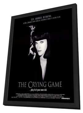 The Crying Game - 11 x 17 Movie Poster - Style A - in Deluxe Wood Frame