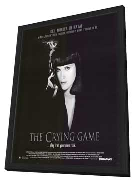 The Crying Game - 27 x 40 Movie Poster - Style A - in Deluxe Wood Frame