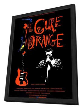 The Cure in Orange - 11 x 17 Movie Poster - Style A - in Deluxe Wood Frame