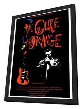 The Cure in Orange - 27 x 40 Movie Poster - Style A - in Deluxe Wood Frame