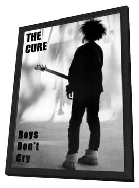 Cure, The - 11 x 17 Music Poster - Style A - in Deluxe Wood Frame