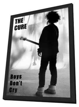 The Cure - 11 x 17 Music Poster - Style A - in Deluxe Wood Frame