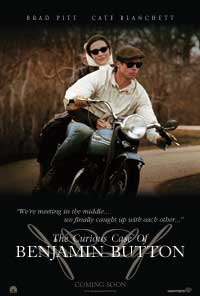 The Curious Case of Benjamin Button - 27 x 40 Movie Poster - Style D