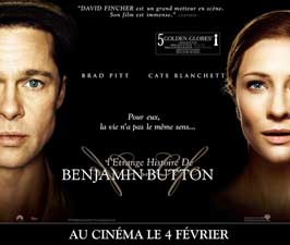 The Curious Case of Benjamin Button - 30 x 40 Movie Poster - French Style A