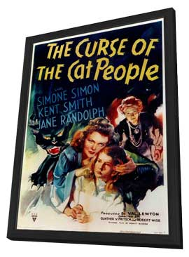 The Curse of the Cat People - 11 x 17 Movie Poster - Style A - in Deluxe Wood Frame
