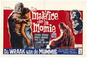 The Curse of the Mummys Tomb - 11 x 17 Movie Poster - Belgian Style A