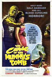 The Curse of the Mummys Tomb - 27 x 40 Movie Poster - Style A