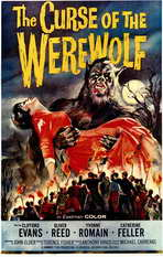 The Curse of the Werewolf - 11 x 17 Movie Poster - Style A