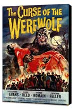 The Curse of the Werewolf - 27 x 40 Movie Poster - Style A - Museum Wrapped Canvas