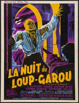 The Curse of the Werewolf - 27 x 40 Movie Poster - French Style A