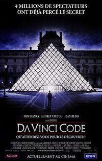 The Da Vinci Code - 11 x 17 Movie Poster - French Style A