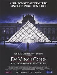 The Da Vinci Code - 47 x 62 Movie Poster - French Style A