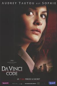 The Da Vinci Code - 47 x 62 Movie Poster - French Style F