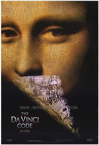 The Da Vinci Code - Movie Poster - 24 x 36 - Style A