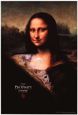 The Da Vinci Code - Movie Poster - Reproduction - 27 x 40 - Style A