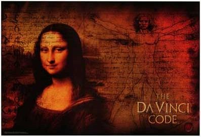 The Da Vinci Code - 27 x 40 Movie Poster - Style A - Double Sided