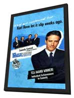 The Daily Show - 11 x 17 TV Poster - Style A - in Deluxe Wood Frame