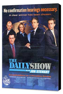 The Daily Show - 11 x 14 TV Poster - Style A - Museum Wrapped Canvas