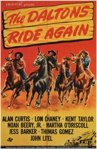 The Daltons Ride Again - 11 x 17 Movie Poster - Style A
