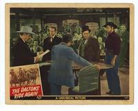 The Daltons Ride Again - 11 x 14 Movie Poster - Style D
