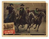 The Daltons Ride Again - 11 x 14 Movie Poster - Style E