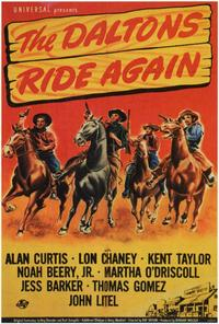 The Daltons Ride Again - 27 x 40 Movie Poster - Style A