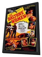 The Daltons' Women - 27 x 40 Movie Poster - Style A - in Deluxe Wood Frame