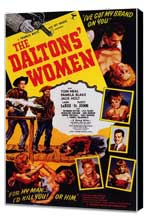 The Daltons' Women - 27 x 40 Movie Poster - Style A - Museum Wrapped Canvas