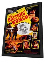 The Daltons' Women - 11 x 17 Movie Poster - Style A - in Deluxe Wood Frame