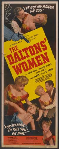 The Daltons' Women - 14 x 36 Movie Poster - Insert Style A