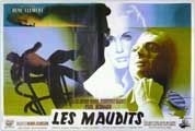 The Damned - 11 x 17 Movie Poster - French Style A