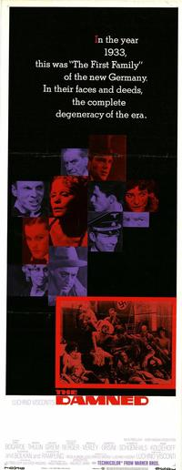 The Damned - 14 x 36 Movie Poster - Insert Style A