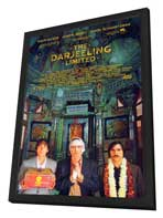 The Darjeeling Limited - 27 x 40 Movie Poster - Style A - in Deluxe Wood Frame