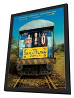 The Darjeeling Limited - 27 x 40 Movie Poster - Style C - in Deluxe Wood Frame