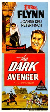 The Dark Avenger - 27 x 40 Movie Poster - Style A