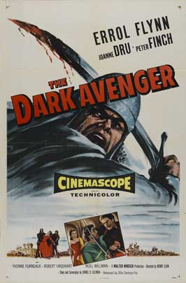 The Dark Avenger - 11 x 17 Movie Poster - UK Style A