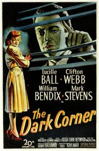 The Dark Corner - 11 x 17 Movie Poster - Style A