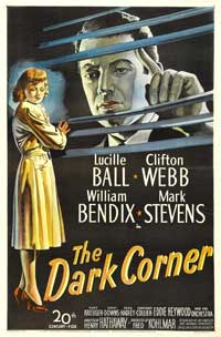 The Dark Corner - 43 x 62 Movie Poster - Bus Shelter Style A