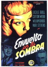 The Dark Corner - 11 x 17 Movie Poster - Spanish Style B