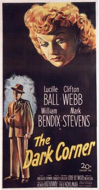 The Dark Corner - 14 x 36 Movie Poster - Insert Style A
