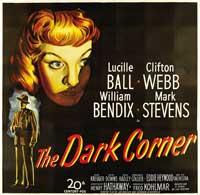 The Dark Corner - 40 x 40 - Movie Poster - Style A