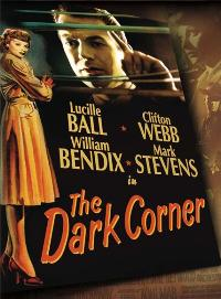 The Dark Corner - 11 x 17 Movie Poster - Style B