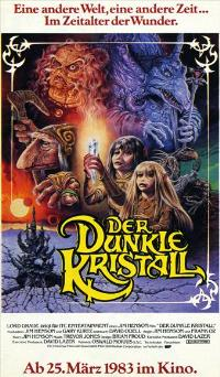 The Dark Crystal - 43 x 62 Movie Poster - German Style A