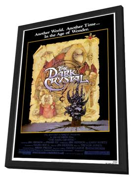 The Dark Crystal - 11 x 17 Movie Poster - Style A - in Deluxe Wood Frame