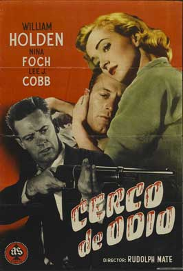 The Dark Past - 11 x 17 Movie Poster - Spanish Style A
