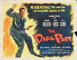 The Dark Past - 11 x 14 Movie Poster - Style B