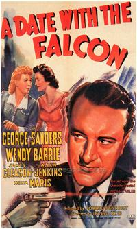 The Date With the Falcon - 43 x 62 Movie Poster - Bus Shelter Style A