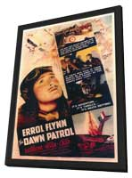 Dawn Patrol - 11 x 17 Movie Poster - Style A - in Deluxe Wood Frame