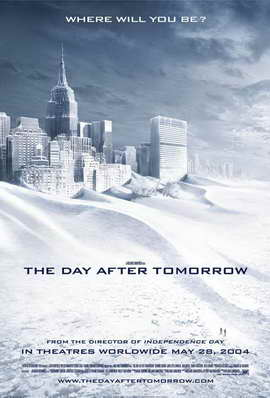 The Day After Tomorrow - 27 x 40 Movie Poster - Style F