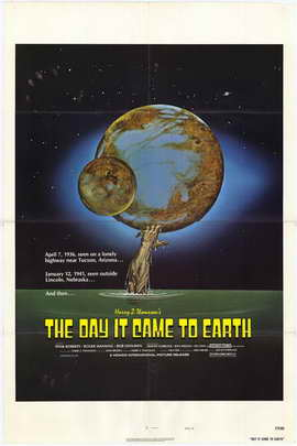 The Day It Came to Earth - 27 x 40 Movie Poster - Style A